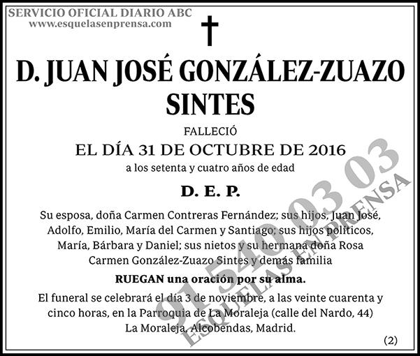 Juan José González-Zuazo Sintes